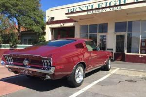1968 Ford Mustang S-Code 390 big block fastback