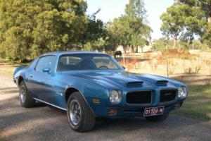 Pontiac Firebird Formula 455 - Ram Air & 4 speed manual