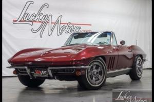 1966 Chevrolet Corvette Sting Ray Convertible Numbers Matching