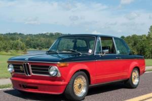 1973 BMW 2002 BMW 2002, round-taillight