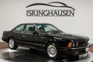 1988 BMW M-Models M6