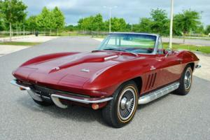 1966 Chevrolet Corvette Convertible 427/425 HP 4-Speed Stunning Classic! Photo