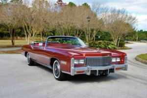 1976 Cadillac Eldorado Convertible 23,744 Actual Miles! Super Clean! Photo