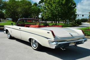 1963 Chrysler Imperial Convertible 413 V8 Factory A/C Rare Classic Luxury Photo