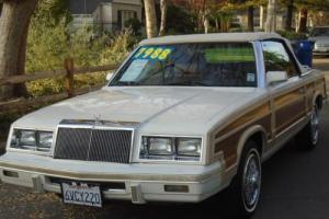 1984 Chrysler LeBaron Mark Cross Photo