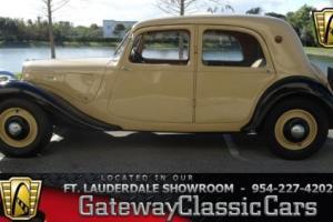 1935 Citroën 7CV --