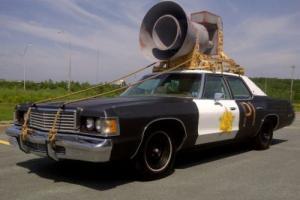 1976 Dodge Monaco Police Squad Car Tribute