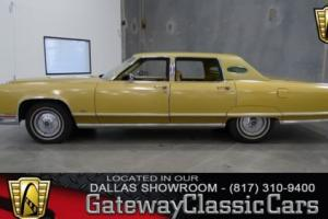 1977 Lincoln Continental Town Car