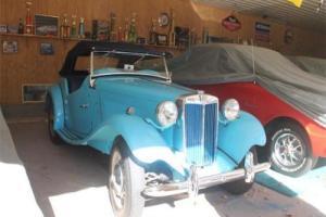 1950 MG T-Series -- Photo
