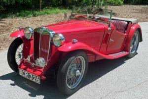 1937 MG T-Series