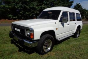 1980 Nissan SAFARI 4X4 SAFARI 4X4 DIESEL