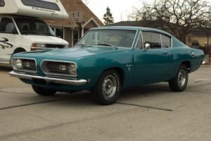 1968 Plymouth Barracuda S Photo