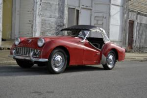 1960 Triumph TR3 A Photo