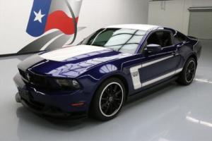 2012 Ford Mustang BOSS5.0 6-SPEED RECARO 19'S