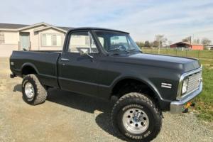 1972 Chevrolet C/K Pickup 1500 Short Bed K10