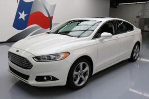 2013 Ford Fusion SE TECH ECOBOOST SUNROOF NAV