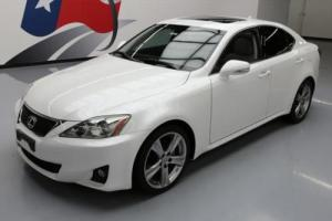2011 Lexus IS CRUISE CTRL SUNROOF BLUETOOTH