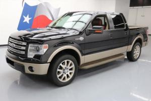 2013 Ford F-150 KING RANCH CREW 5.0 SUNROOF NAV