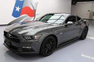 2015 Ford Mustang 5.0 GT PREM 50TH ANNIV 6-SPD NAV