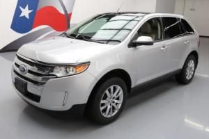 2012 Ford Edge SEL LEATHER PANO ROOF NAV REAR CAM