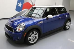 2013 Mini Cooper S TURBOCHARGED AUTO PANO SUNROOF