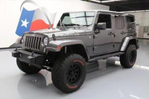2014 Jeep Wrangler UNLTD RUBICON 4X4 NAV LIFTED