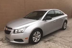 2012 Chevrolet Cruze LS 4dr Sedan Sedan 4-Door Automatic 6-Speed I4 1.8