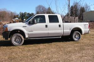 2001 Ford F-350 Crew Shortbed 7.3 Diesel Texas 5 speed rustfree
