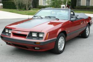 1985 Ford Mustang GT CONVERTIBLE - 5 SPEED - 19K MILES