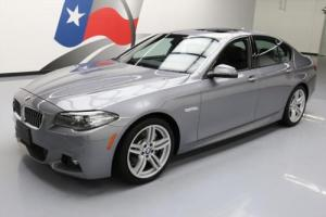 2014 BMW 5-Series 535I M SPORT TURBO SUNROOF HTD LEATHER NAV