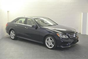 2014 Mercedes-Benz E-Class 4dr Sedan E350 4MATIC