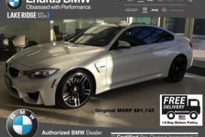 2016 BMW M4 --