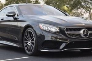 2015 Mercedes-Benz S-Class S550 COUPE LAUNCH EDITION