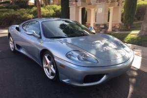 2002 Ferrari 360 F1 coupe