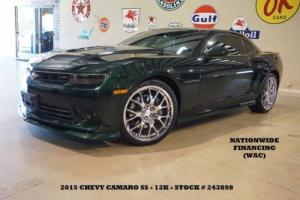 2015 Chevrolet Camaro SS Coupe,AUTO,HUD,SUNROOF,NAV,HTD LTH,CHROME 21'S!
