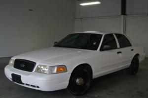 2008 Ford Crown Victoria 4dr Sdn w/3.27 Axle