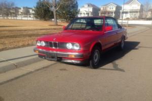 1989 BMW 3-Series
