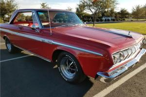 1964 Plymouth Sport Fury -Original 383 & 4-speed - Red on Red - Investment Photo