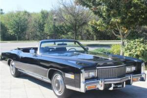 1976 Cadillac Eldorado Convertible Absolutely Beautiful! Fully Documented