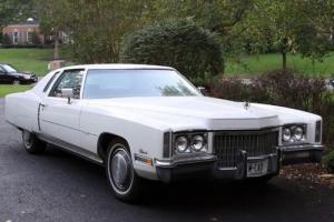 1972 Cadillac Eldorado coupe Photo