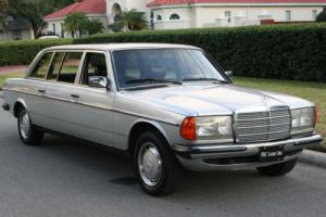 1984 Mercedes-Benz 300-Series 300D LIMO - TWO OWNER