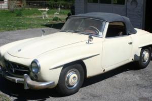 1956 Mercedes-Benz 190-Series