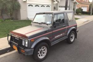 1987 Suzuki Samurai Special Edition