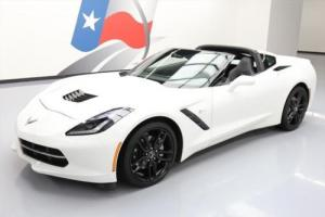 2015 Chevrolet Corvette STINGRAY 2LT ZF1 APPEARANCE NAV