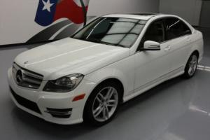 2013 Mercedes-Benz C-Class C250 SPORT TURBOCHARGED SUNROOF