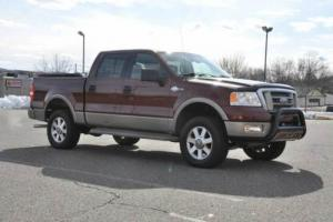 2005 Ford F-150 4X4 King Ranch Crew Cab 5.4L Triton LOADED CLEAN !