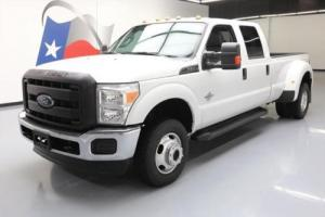 2014 Ford F-350 4X4 CREW DIESEL DUALLY 6-PASS TOW