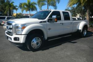 2016 Ford F-450 PLATINUM F-450 CREW CAB Photo