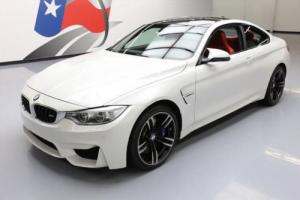 2016 BMW M4 COUPE EXECUTIVE 6-SPEED CARBON ROOF NAV HUD