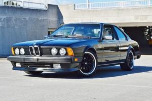 1984 BMW 6-Series